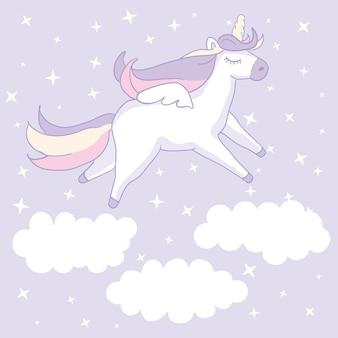 Belle licorne.