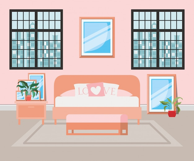 Belle maison de chambre