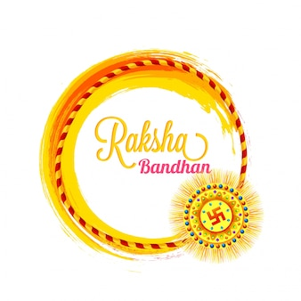 Belle rakhi décorative pour raksha bandhan.