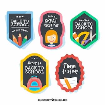 Belles badges pour l'école
