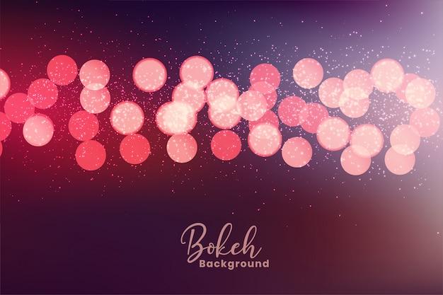 Belles couleurs bokeh fond effet de lumière
