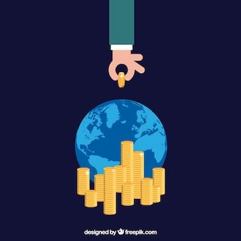 Le bénéfice d'entreprise international