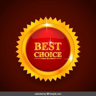 Best bouton de choix