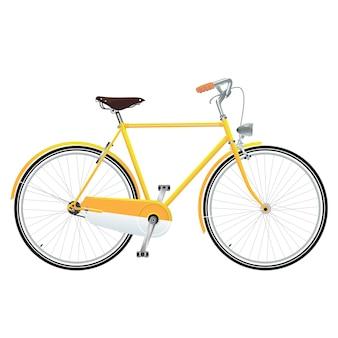 Bicyclette jaune