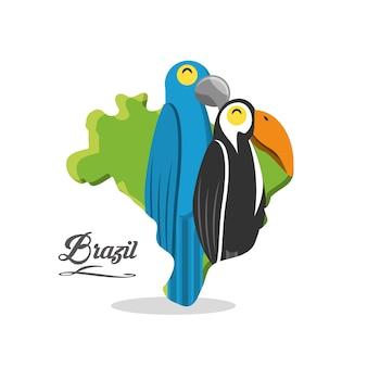 Bienvenue à la conception du brésil