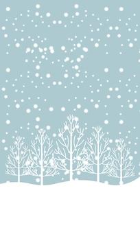 Bienvenue conception de l'hiver, illustration vectorielle illustration eps10