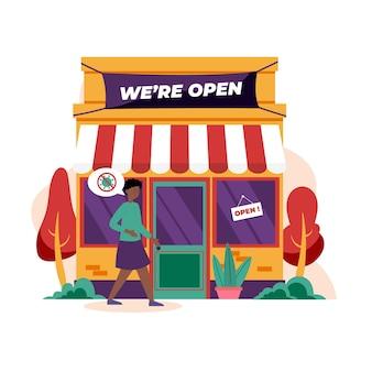 Bienvenue dans la boutique et au client