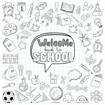 Bienvenue à l'école grand ensemble d'éléments
