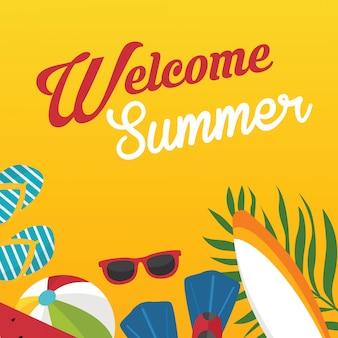 Bienvenue l'été