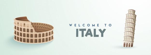 Bienvenue en italie