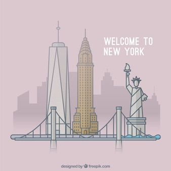 Bienvenue à new york