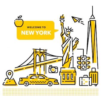 Bienvenue à new york