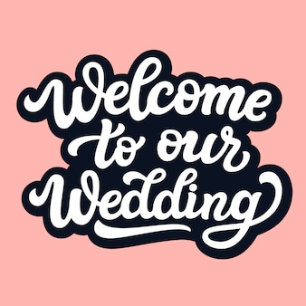 Bienvenue sur notre texte de mariage