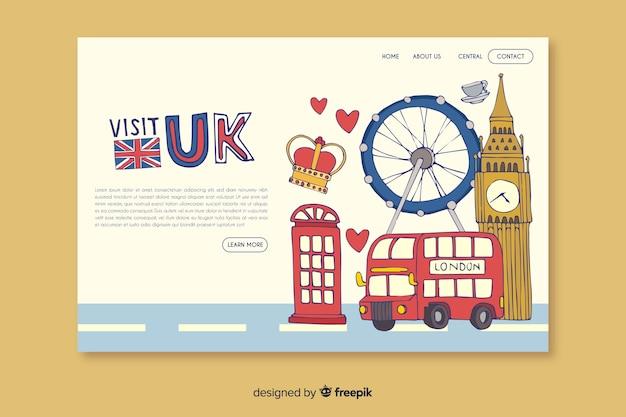 Bienvenue sur la page d'atterrissage du royaume-uni
