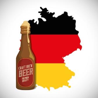 Bière allemande de qualité supérieure