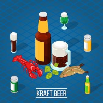 Bière isométrique