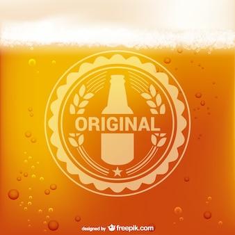 Bière logo vectoriel