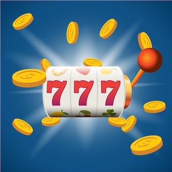 Big gagner des fentes 777 bannière casino