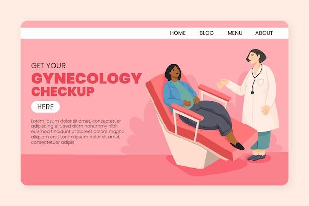 Bilan gynécologique - page de destination