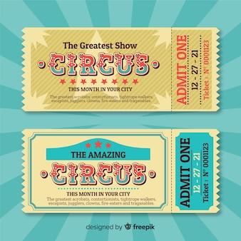 Billet de cirque