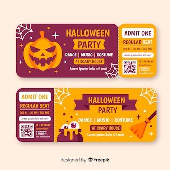 Billets d'halloween