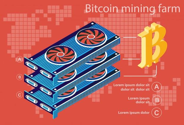 Bitcoin électronique isométrique