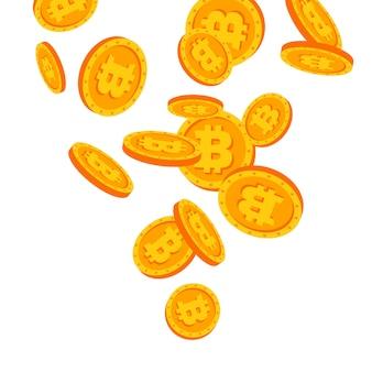 Bitcoins en chute