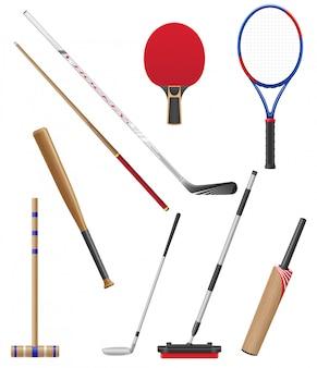 Bits et bâton au sport