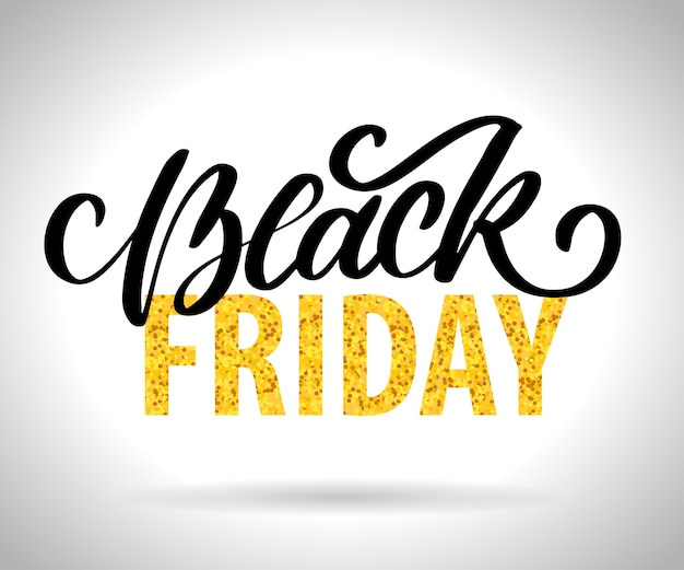 Black friday dessins calligraphiques éléments style rétro ornements vintage vente