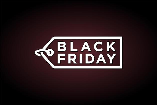 Black friday discount vente promo autocollant étiquette logo design vector