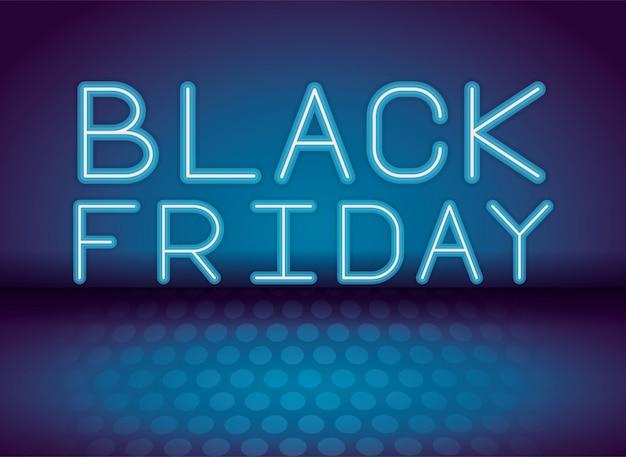 Black friday, la publicité au néon
