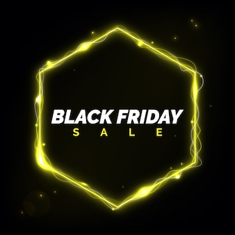 Black friday sale néon