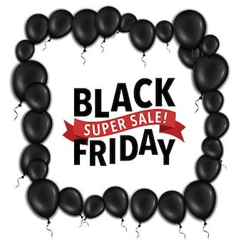Black friday super sale poster