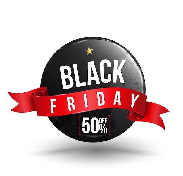 Black friday vente bannière pour promotion vendredi vente.