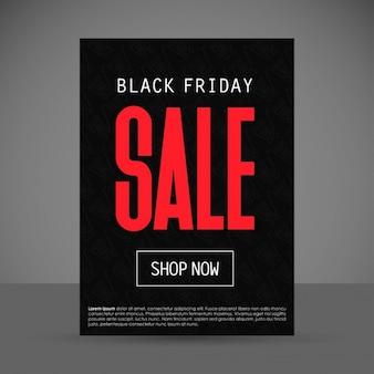 Black friday vente boutique fond maintenant modèle