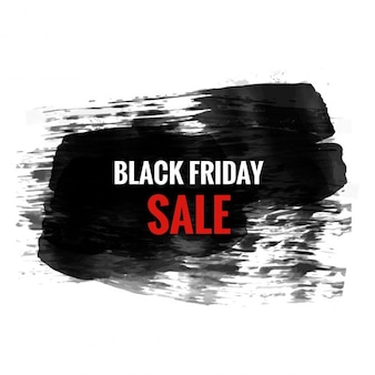 Black friday vente conception grunge