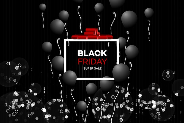 Black friday vente décoration.