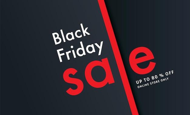 Black friday, vente, modèle de conception de bannière, durée limitée uniquement, fond abstrait, vecteur.