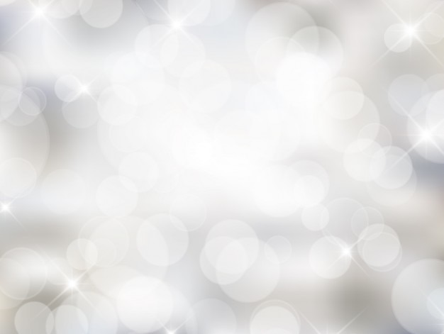 Blanc bokeh dans le style lumineux
