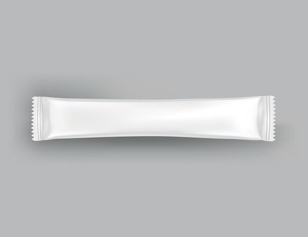 Blanc brillant réaliste de doy pack