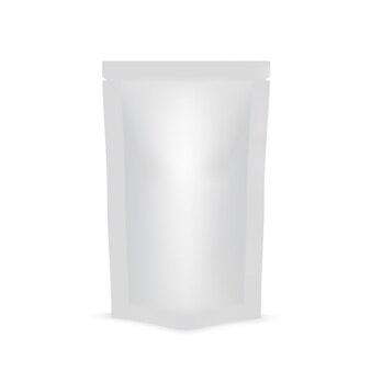 Blanc de doy pack pour nourriture ou boisson.
