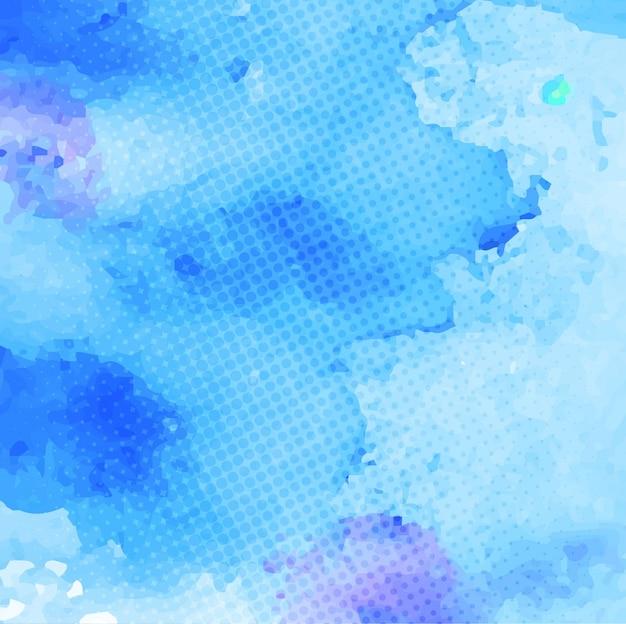 Bleu aquarelle, texture artistique