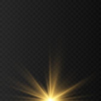 Bleu, blanc, or, orange scintille vecteur de symboles. l'ensemble des étoiles de vecteur d'origine sparkle icône. feu d'artifice lumineux, scintillement de décoration, flash brillant.