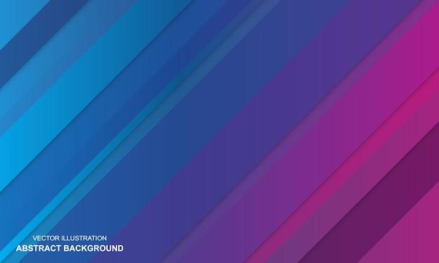 Bleu avec fond abstrait moderne violet et rose