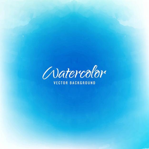 Bleu fond d'aquarelle