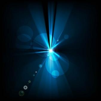 Bleu ondulée élégant fond