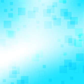 Bleu avec petits carrés de fond