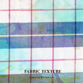 Bleu et rouge texture de tissu