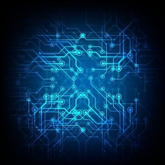 Bleu technologie fond