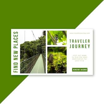 Blog de bannière de voyage